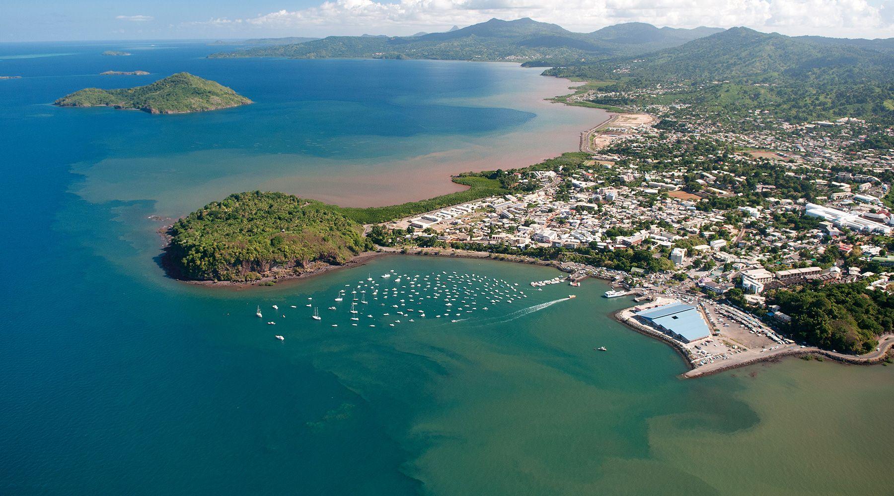 Vue aérienne Mayotte