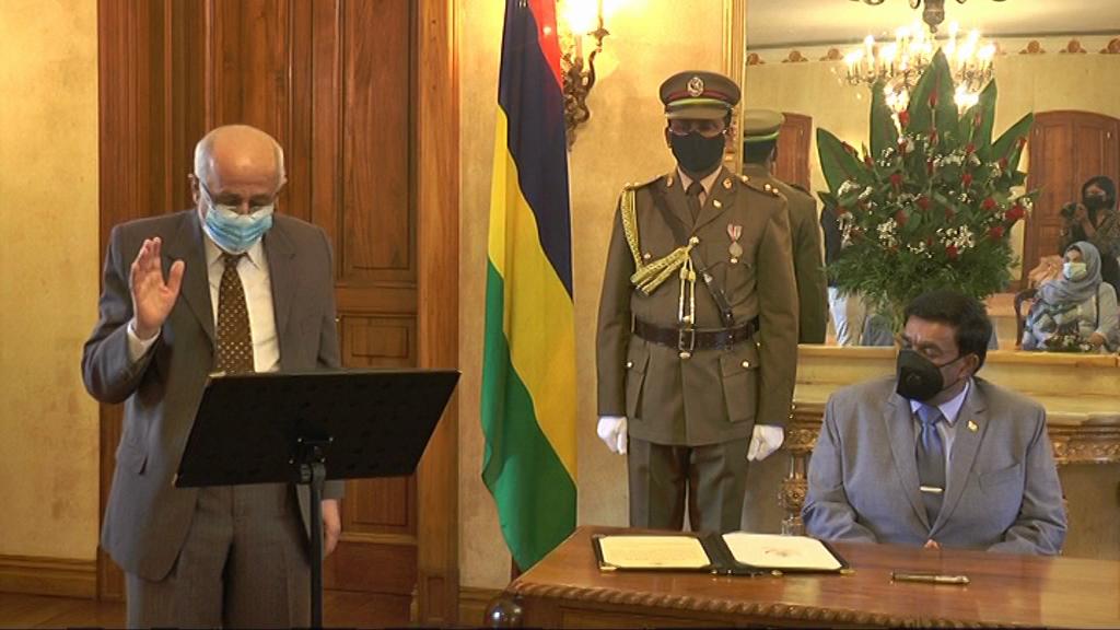 [VIDÉO] Equal Opportunities Commission- prestation du nouveau président Ahmad Sulliman