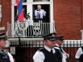 assange british police
