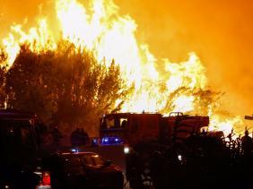 Incendie dans le Var