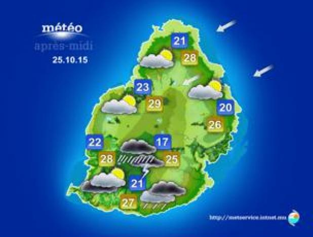 Weather Forecast   24 October 2015 | Mauritius Broadcasting